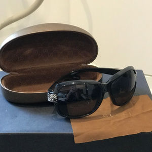 Gucci Sunglasses with Swarovski Crystals Black